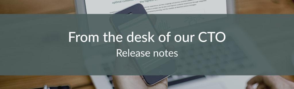 SuiteCX Release Notes